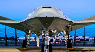 Boeing unveils its carrier-launched tanker drone set to compete for a Navy contract