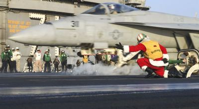 Picture of the Day: Santa Has Many Talents!