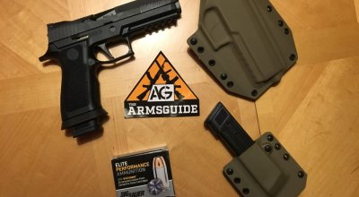 First look at the Sig 320 X-Five: Competition ready right out of the box