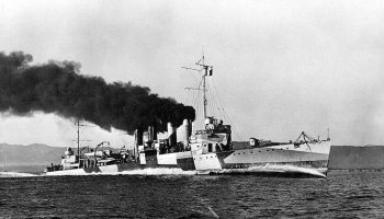 The USS Ward Fired the First US Shots of WWII at Pearl Harbor