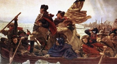 December 26, 1776, General George Washington wins the Battle of Trenton