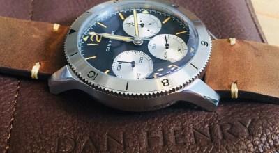 Dan Henry's 1963 offers accessible vintage pilot watch