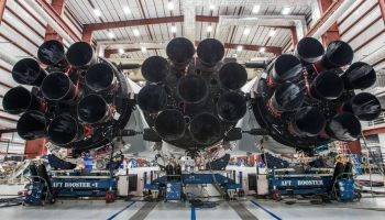 SpaceX's Falcon Heavy, the most powerful rocket on the planet, set for static testing this month