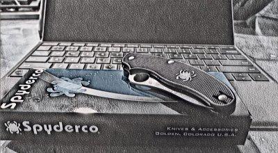 Spyderco UK Penknife: A lightweight drop point folder for carry abroad