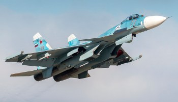 Russian Su-27 comes within '5 feet' of US Navy surveillance aircraft over the Black Sea