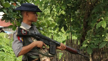 Myanmar police open fire and kill at least seven Buddhist protesters