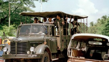 Burmese government pushing the front lines under the pretext of peace