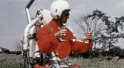 Watch: Throwback! The Bell Rocket Belt Jetpack