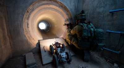 Israel exposes a third 'terror tunnel'