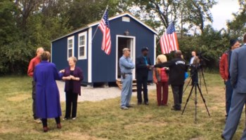 Combating veteran homelessness with tiny homes: 13 veterans to move in, more homes coming
