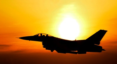 US Air Force F-16 suffers engine fire over Japan, drops fuel pods near fishermen