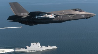 War with China would mean 'hot loading' ordnance on F-35Bs in the field without returning to a carrier