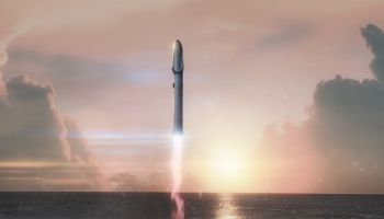Following the Falcon Heavy's success, Musk's next rocket aims to ferry crews of 100 into space