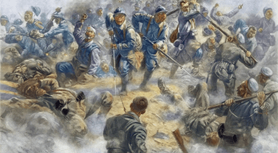 On this day in history: The first shot in the battle of Verdun is fired