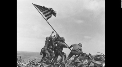 Flag Raising on Mount Suribachi, One of America's Iconic Moments