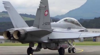 Watch: Sky Dancer – Swiss Air Force F/A-18 Hornets in Action!