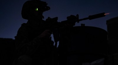 SOF Pic of the Day: Air Force Pararescueman opens fire in Afghanistan