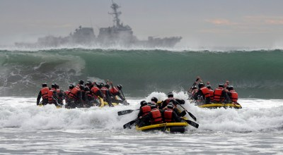 SOF Pic of the Day: SEAL students in the surf