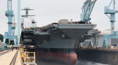 The US Navy is considering a cost-saving plan to buy 2 new aircraft carriers this year