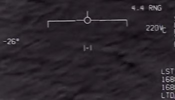 Newly declassified footage appears to show F/A-18 Hornet intercept of a UFO off America's East coast in 2015