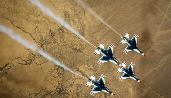 Air Force Thunderbirds Cancel Appearances in Aftermath of Pilots Death
