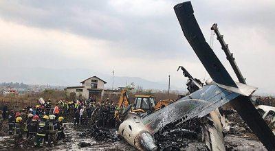 Bangladeshi Airline US-Bangla Flight BS211 Veers Off Runway in Nepal 49 Dead