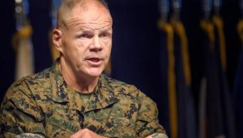 Marine Corps Commandant considers extending time between deployments, says transgender troops remain 'until we hear otherwise'