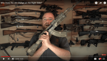 Origins of the AK: Why is the Charging Handle on the Right?