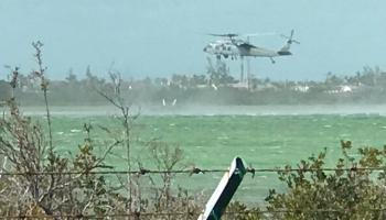 US Navy F/A-18 Crashes on Approach to Landing at Naval Air Station Key West