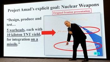 "BREAKING: Israel presents Iran's secret nuclear program files after ""historic"" intel operation"