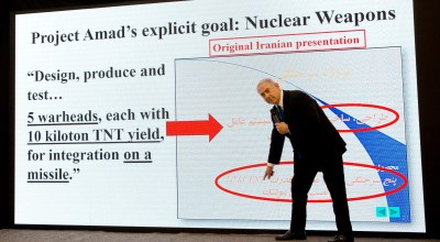 "BREAKING: Israel presents Iran's secret nuclear program files after ""historic"" intel operation"