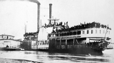On this day in history: The Sultana steamboat explodes, killing over 1,500