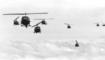 Vietnam helicopter pilot and crew member memorial unveiled at Arlington