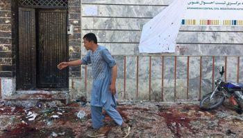63 Dead in Bombings in Afghanistan Voter Registration Centers