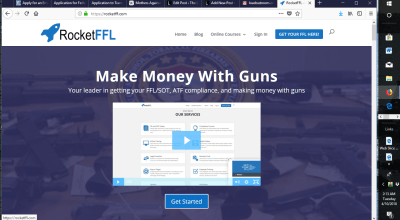 Want to get your Federal Firearms License? Get it Right with RocketFFL.com