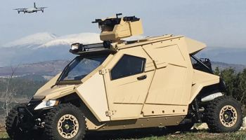 Plasan Unveils New Border Security, Special Ops Vehicle