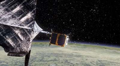 SpaceX delivers prototype space junk collector to the ISS, but the experiment has serious defense implications