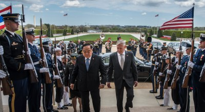 In Pictures: Secretary of Defense Mattis coordinating with Thailand