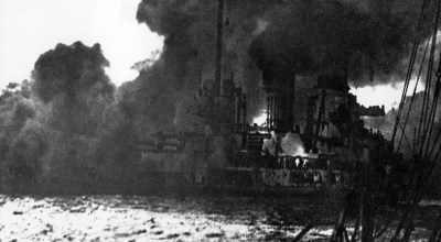 In pictures: WWI on the sea