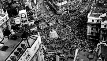 On this day in history: The Allies celebrate V-E Day