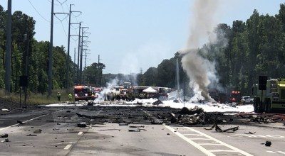 Air National Guard plane crashes, 9 presumed dead