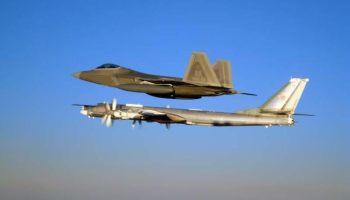 US scrambles F-22s to intercept Russian bombers near Alaska again -- you shouldn't dismiss it