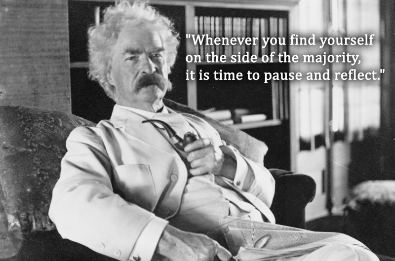 Five Mark Twain quotes as they relate to 2018 | SOFREP