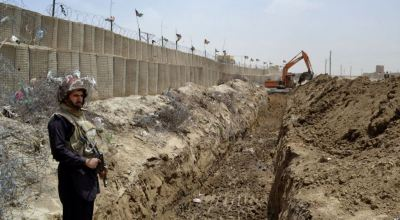 Pakistan Building Fence Along Border with Afghanistan
