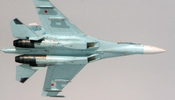 Russian Su-27 Jet Performs Intercept of U.S. Navy P-8 Surveillance Plane Over Baltic Sea