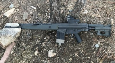 Spur AB Stock | Swedish Upgrade for the G3 Pattern Rifle