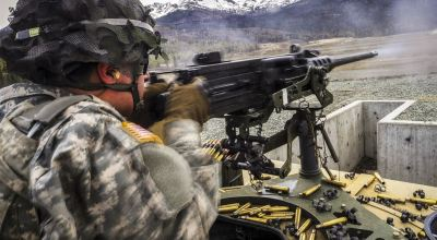 SOFREP Pic of the Day: Putting rounds downrange with a .50 cal