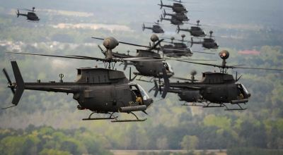 SOFREP Pic of the Day: Kiowa Warrior attack helicopters