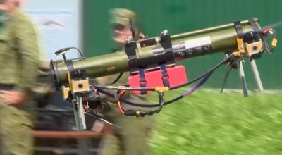 Belarus' new combat drone is a grenade launcher with quadrotors strapped to it