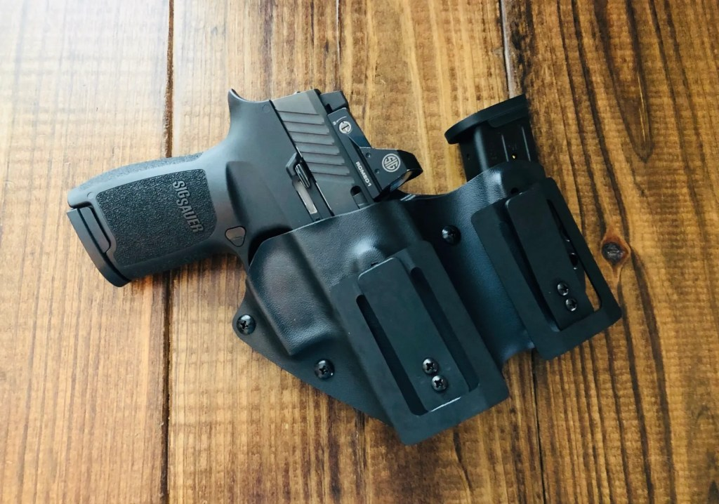 Galloway Precision appendix carry and compact holster review with the Sig Sauer P320